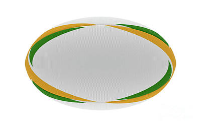 Designs Similar to Rugby Ball Yellow Green Design