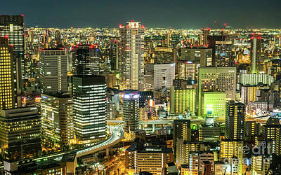 Designs Similar to Osaka Skyline, Japan