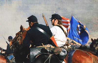 Battle Of Franklin Digital Art Prints