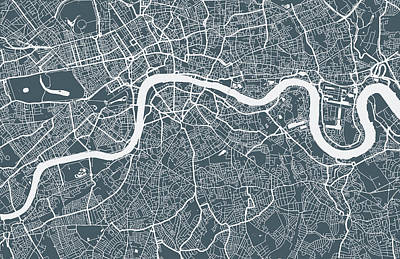 Designs Similar to London City Map by Mattjeacock