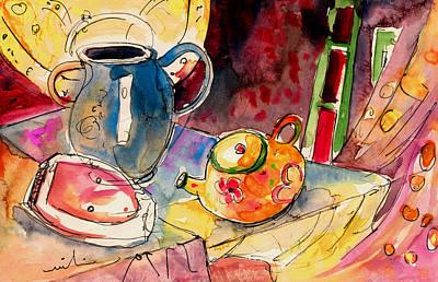 Tea Pot Drawings Prints