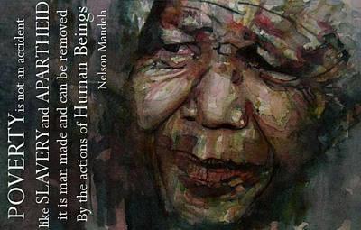 Nelson Mandela Art Prints