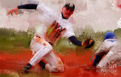 Chase Utley Paintings