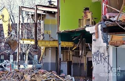 Urban Deconstruction Photographs