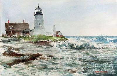 Pemaquid Lighthouse Original Artwork