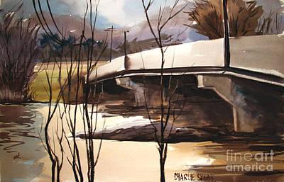 River Flooding Original Artwork