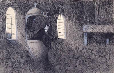 Designs Similar to Devil  by Ivar Arosenius
