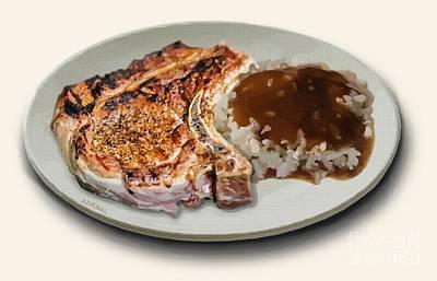 Designs Similar to Pork Chop And Rice