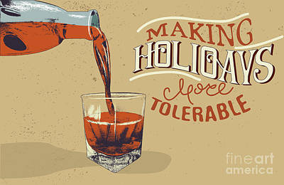 Scotch Whisky Digital Art