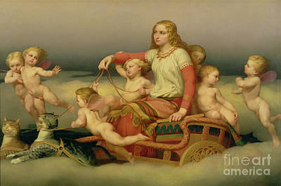 Norse Goddess Paintings