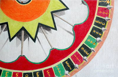 Gambling Drawings Original Artwork