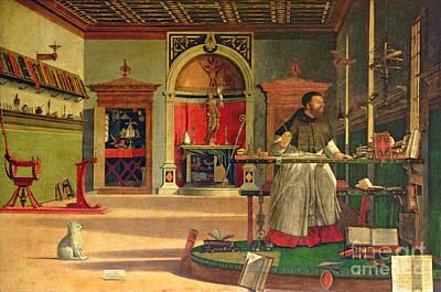 Of St. Augustine Paintings