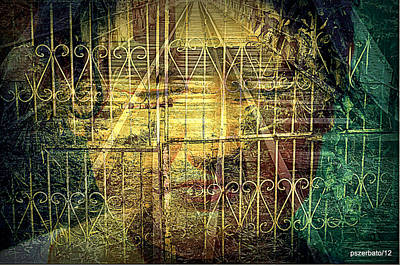 Padlock Digital Art Original Artwork