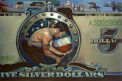 Pony Express Original Artwork