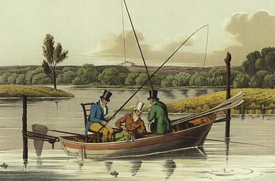 Angler Drawings Prints