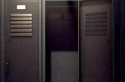 Designs Similar to Locker Row And Open Door 4
