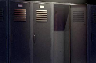 Designs Similar to Locker Row And Open Door