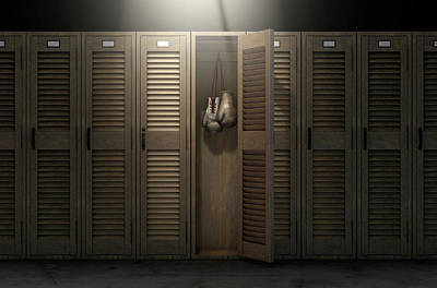 Designs Similar to Boxing Gloves In Vintage Locker