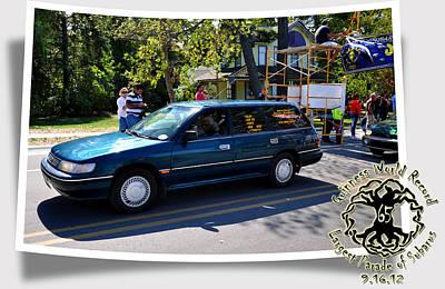 Subaru Parade Art