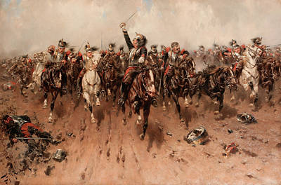 Designs Similar to French Cavalry Charging