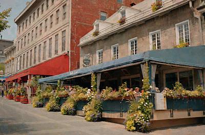 Montreal Restaurants Digital Art