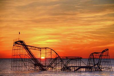 Jet Star Rollercoaster Photographs