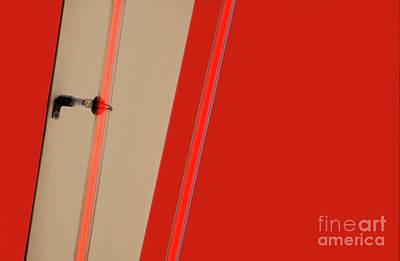 Red Abstract Photographs Original Artwork