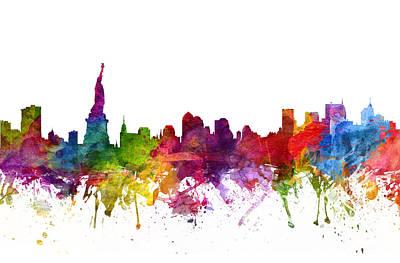 New York Skyline Drawings
