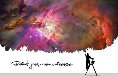 Designs Similar to Paint Your Own Universe