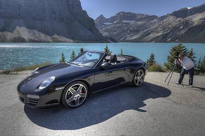 Designs Similar to Porsche 911 Cab At Bow Lake