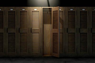 Designs Similar to Vintage Locker And Open Door