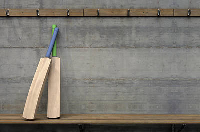 Designs Similar to Cricket Bat In Change Room