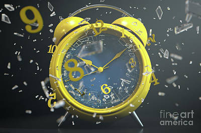 Designs Similar to Table Clock Time Smashing Out