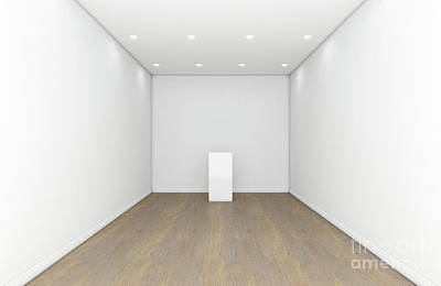 Designs Similar to Empty Gallery Room And Plinth
