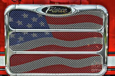 Designs Similar to Firetruck Usa Grill