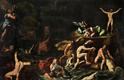 Designs Similar to The Flood by Antonio Carracci
