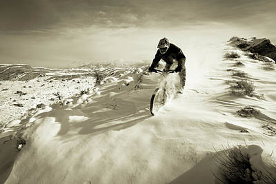 Designs Similar to  A Man Riding His Mountain Bike
