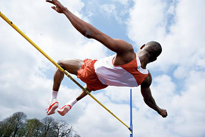 Designs Similar to Athlete Performing A High Jump