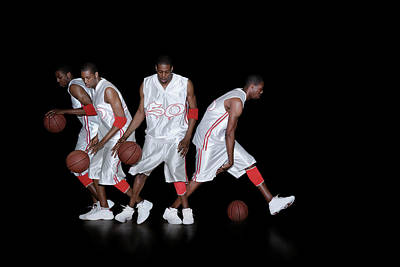 Designs Similar to Basketballer Dribbling
