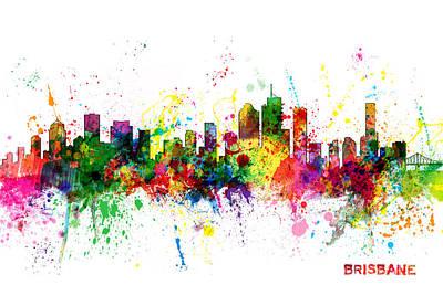 Designs Similar to Brisbane Australia Skyline