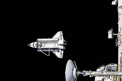 Designs Similar to Discovery Departing The Iss