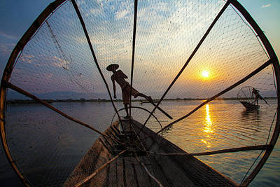 Designs Similar to Myanmar, Inle Lake
