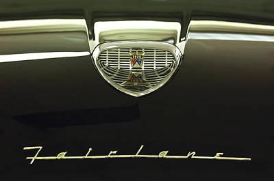 1958 Ford Fairlane 500 Victoria Tudor Hardtop Photographs