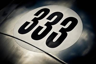 Racecar Number Prints