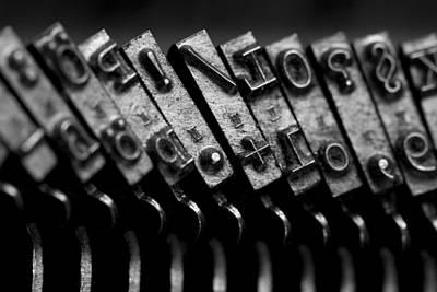 Schreibmaschinentasten Photographs