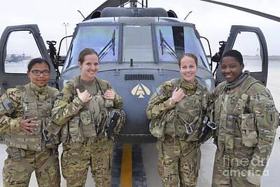 Designs Similar to A U.s. Army All Female Crew