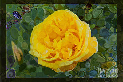 Designs Similar to A Yellow Rose Abstract Painting