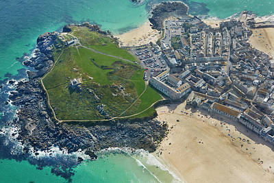 Designs Similar to Aerial View Of St Ives
