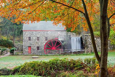 Longfellow S Grist Mill Art