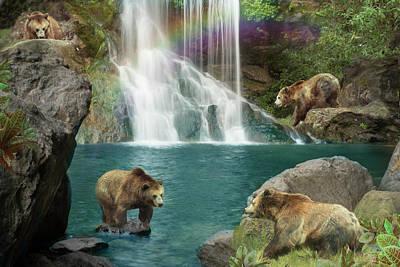 Waterfall Drawings